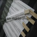 Palillos de la exportación con el paquete de la insignia