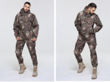 Custom Autumn Winter Thicken Soft Windproof Uniform Exército Camouflage Men's Suit Jacket