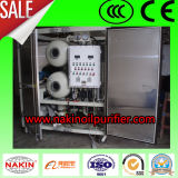 Système de filtrage sur place utilisé de machine/pétrole de purification d'huile isolante