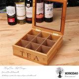 [هونغدو] عالة جديدة تصميم قارب شاي [جفت بوإكس] شاي يعبّئ صندوق خشبيّة [فكتوري بريس] [إ]