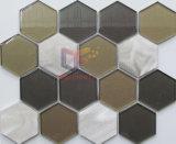 Hexagon Mozaïek van het glas (CFA90)