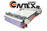 Stampaggio di tessuti a base piatta della stampante Using l'inchiostro del pigmento