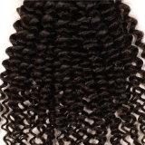 Afro человеческих волос девственницы выдвижения 100% волос Remy бразильского Kinky курчавые