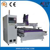 16의 공구를 가진 Acut-2513 Aircooling 스핀들 CNC 대패 기계/CNC Atc 대패