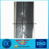 Tissu de frontière de sécurité de vase de géotextile tissé par polypropylène UV