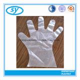 Ясные перчатки PE для Delis трактира