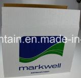 Rectángulos acanalados del cartón de Kraft con diseño del plegamiento del Rsc