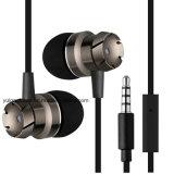 hoofdtelefoon van de anti-Kras van de Oortelefoons van de Oortelefoons van het in-oor de Metaal Diepe Bas Antislip