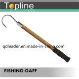 Рыболовство Gaff с деревянной ручкой
