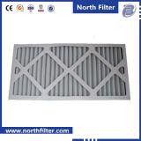 Gefalteter Pappvollkommenheits-Filter für Luft-Behandlung