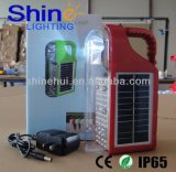 Lanterna solar portátil da luz da caça da mão