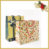 Bolso modificado para requisitos particulares del regalo de la bolsa de papel del regalo que hace compras