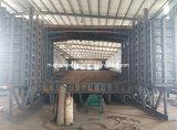 Coffrages en acier pour pont en béton