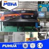 Máquina de perfuração hidráulica do CNC para o preço de metal da folha