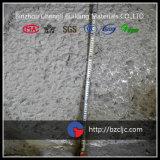 Adição concreta usada do grupo planta concreta
