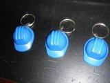 Forme du chapeau en plastique mignonne Keychain