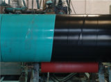 FBE interior revestido 3PE Superficie superficie exterior recubierto de beber agua de tubería de acero