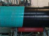 Fbe interior fuera del tubo de acero cubierto 3PE del agua de la bebida