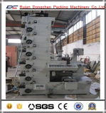 Machine d'impression de Flexo de l'impression typographique Hx320 pour l'étiquette Rolls (DC-HX) de rétrécissement de PVC