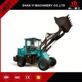 Maquinaria agricultural carregador da roda de 1.8 toneladas mini com Ce