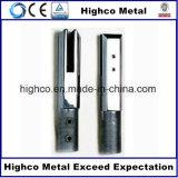 Balaustra acciaio inossidabile/dello zipolo di vetro