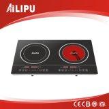 Quemadores doble de la baja Precio cocina de inducción e Infrared Cooker (SM-DIC03)