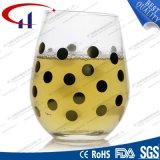 230ml無鉛印刷された低下ガラスジュースのコップ(CHM8188)