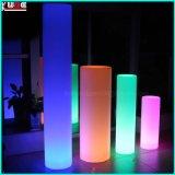 Verlichte LEIDENE Vierkante Cylinde met Verlichting voor de Partijen van de Huwelijken van Gebeurtenissen