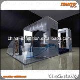 Подгонянная модульная портативная будочка выставки ткани
