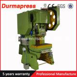 Máquina de la prensa de potencia de Durmapress J23-40t para la perforación del orificio del acero de carbón