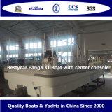 Crogiolo di Panga 31 di Bestyear con la sezione comandi concentrare per pesca