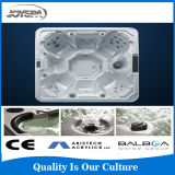 2015 Arrival novo (jato de água do air&) Massage combinado Hot Tube para Big Size People, piscina Bath Tub de Acrylic