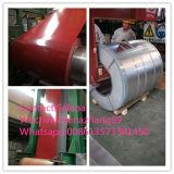 Galvanizado de PPGI en bobinas de acero galvanizadas