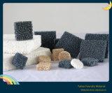 Carborundum Foam Filtro de cerámica para la filtración de hierro fundido