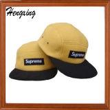 Chapéu tecido do Snapback do chapéu do painel do logotipo 5