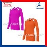 Рубашка волейбола печатание Красить-Сублимации Healong
