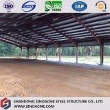 Costruzione commerciale della struttura d'acciaio per l'arena di guida