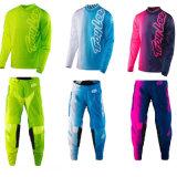 Пурпуровое изготовленный на заказ участвуя в гонке одеяние Motocross шестерни Mx костюма (AGS06)