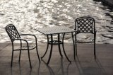 옥외 가구 해변 다름 테이블 및 의자 방석 없음