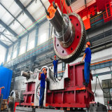 鉱山の企業またはセメントのプラントのロータリーキルンまたは製造所のための鍛造材のピニオン