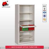 Стальная мебель сползая кухонный шкаф шкафа Fling двери Tambour