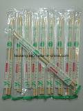 Baguettes en bambou nues de polissage en gros d'emballage de papier