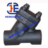 API/DIN geschweißtes Hochdrucköl schmiedete Stahlkugel-Ventil