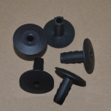 KoaxialCable Feedthrough Wall Bushing in Black