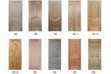 El papel de madera de la chapa/de la melamina hizo frente a la piel de la puerta de HDF