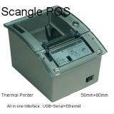 impresora térmica del recibo de la posición de 58m m con Autocutter