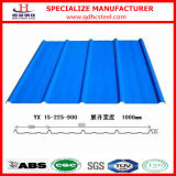 Colour Coated Prepainted Steel Corrugated Sheet for Roof and Wall Panel