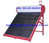 Calentador de agua solar de acero del color blanco y rojo de Qal 2016