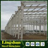 Fabbrica chiara prefabbricata della struttura d'acciaio di basso costo