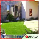 옥상정원과 정원사 노릇을 하기를 위한 인공적인 잔디 뗏장